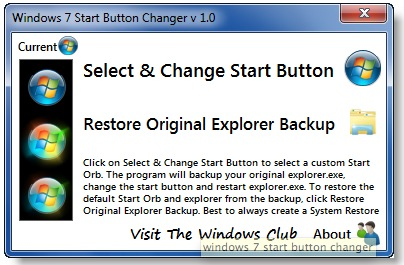 start-button-changer