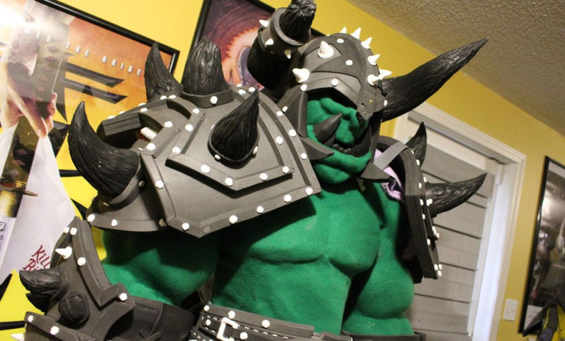 """Life-Size"" WarCraft Cosplay Could Crush Actual Humans"