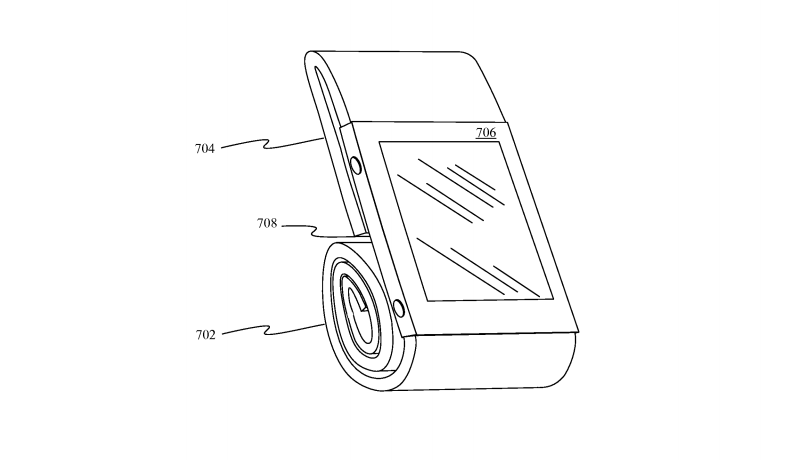 apple_watch_magnetic_strap_patent_stand_mode